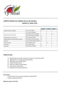 CR CVS Avril 2015