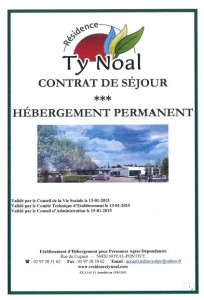 Contrat Hébergement permanent