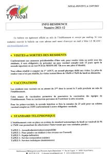 Info Résidence 2021-12